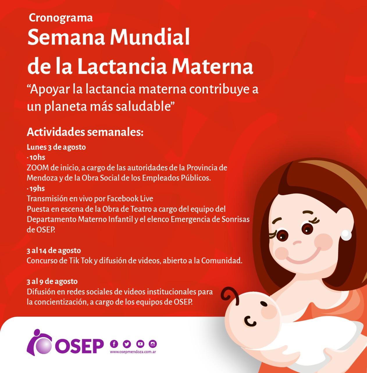 Semana de la lactancia materna - Diario San Rafael