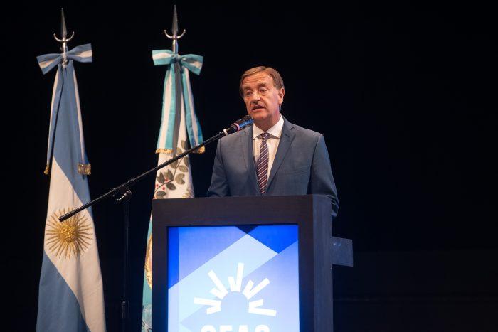 Suarez participó de la sesión constitutiva Consejo Económico Ambiental y Social